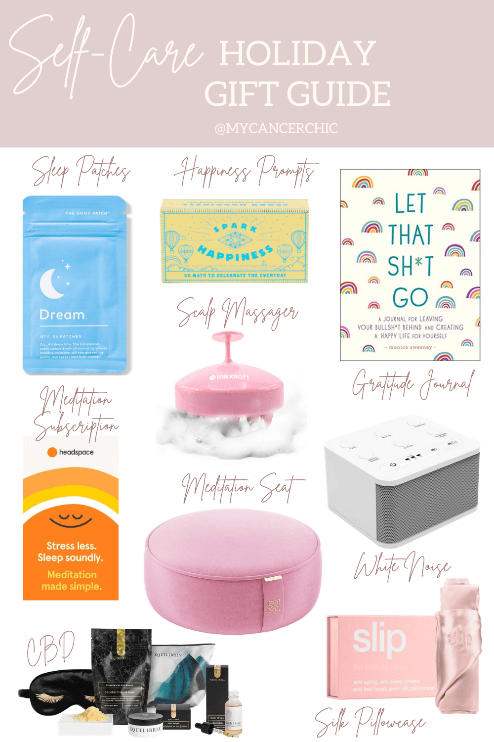 Self Care Wellness Holiday Gift Ideas My Cancer Chic